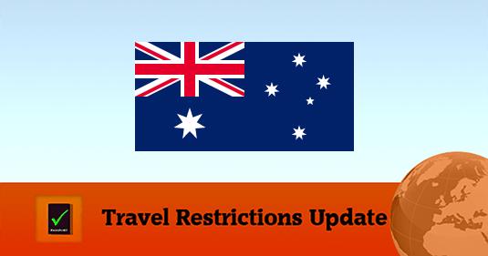 Australia covid19 travel restrictions