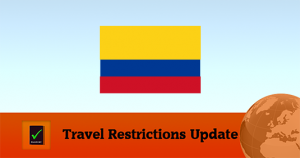 Colombia Covid19 Travel Update