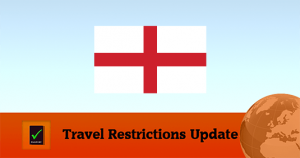 England Covid19 Travel Update