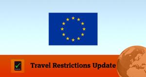 European Union Covid19 Travel Restrictions