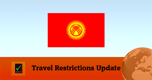 Kyrgyzstan Covid19 Travel Restrictions