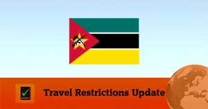 Mozambique covid19 travel restrictions