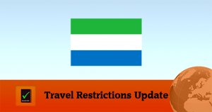 Sierra Leone Covid19 Travel Restrictions