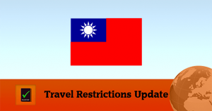 Taiwan Covid19 Travel Restrictions