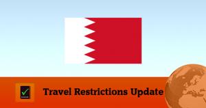 Bahrain Covid19 Travel Restrictions