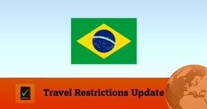 Brazil Covid19 Travel Restrictions