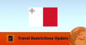 Travel Restrictions Malta