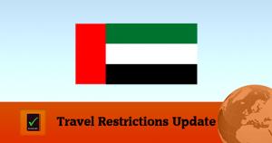 Dubai covid19 Travel Restrictions