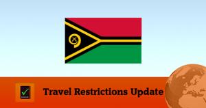 Covid19 travel Vanuatu