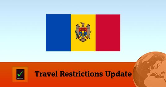 Travel restrictions Moldova