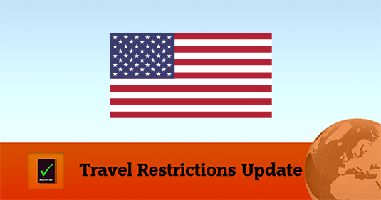 US Covid19 Travel Restrictions